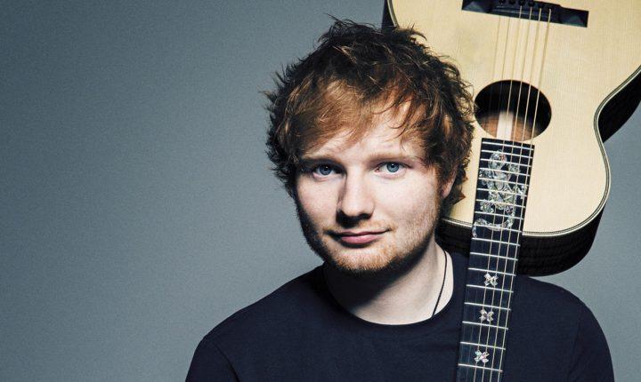 Ed Sheeran se presentará en Colombia