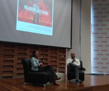 Estudiantes de la Facultad de comunicación participaron del conversatorio con el cineasta Ciro Guerra