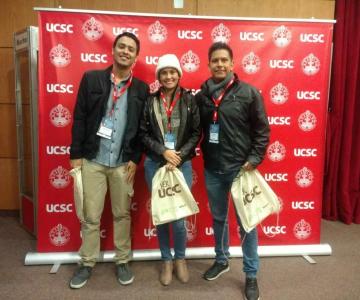 Estudiantes presentaron ponencia en el VI Congreso Internacional de Videojuegos y Educación