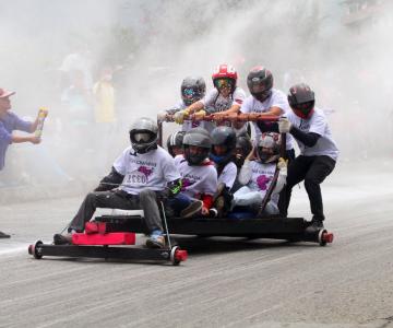 El Festival de Carros de Rodillos este domingo por la vía a Santa Elena