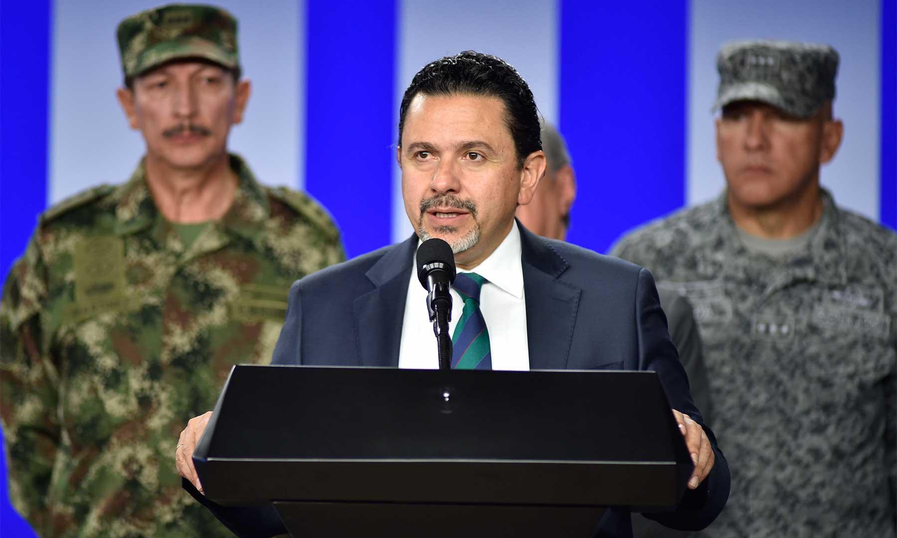Foto tomada de: página de la Presidencia de Colombia