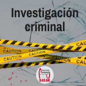 Investigación criminal. Programa de radio de la emisora cultural de la Universidad de Medellín. Frecuencia U